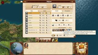 Commander: Conquest of the Americas Tutorial 3: Building ships