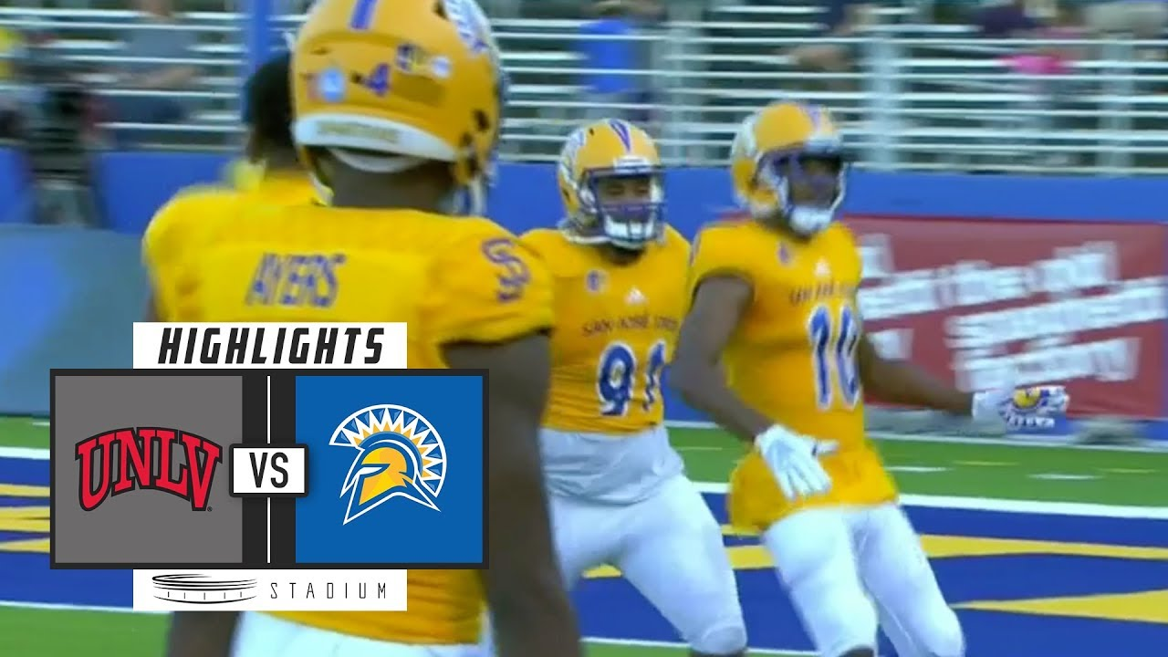 buy popular 8f4c9 04bca UNLV vs. San Jose State Football Highlights (2018) | Stadium