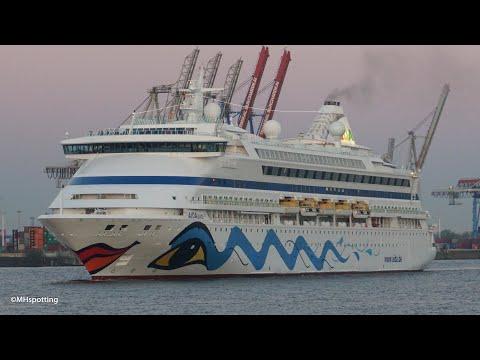AIDAaura | Early Arrival In Hamburg | 4K