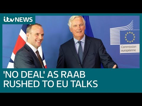 Government sources say no Brexit deal done after Raab rush to EU talks   ITV News