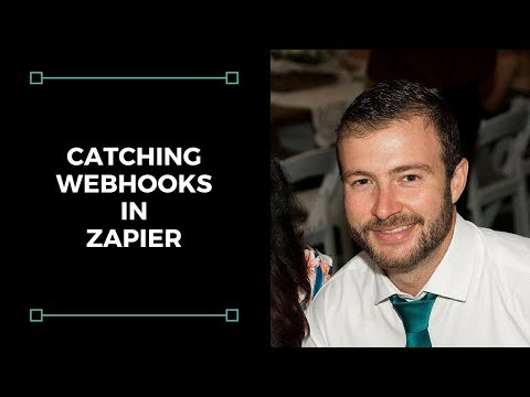 Using Zapier to catch webhooks