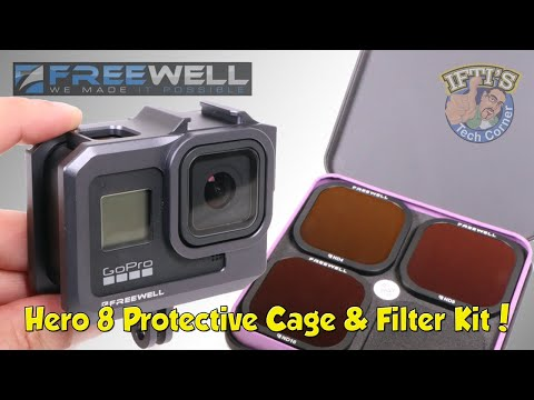 GoPro Hero 8 : Freewell Protective Metal Cage & Filter Kit - REVIEW