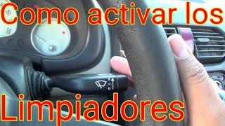 Como usar los Limpiaparabrisas del auto (V14)-AprendeaManejarDesdeCero