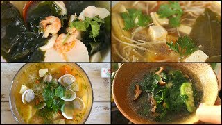 5 Delicious SOUP IDEAS for your everyday meal