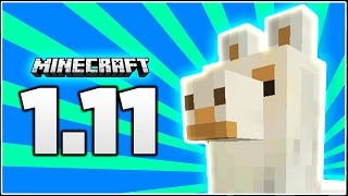 LLAMAS COME TO MINECRAFT!