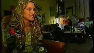 "Jeanette Biedermann - Videodreh ""Hold the Line"""