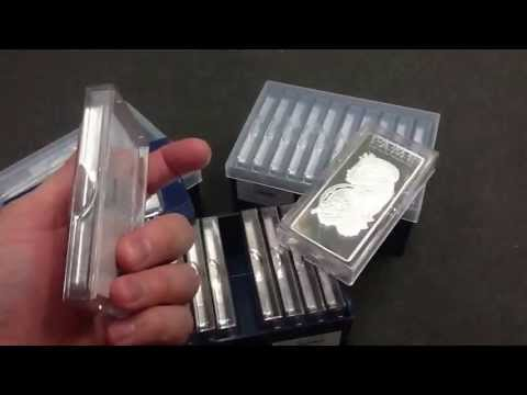 PAMP Suisse new packaging - 100g and 10oz bars
