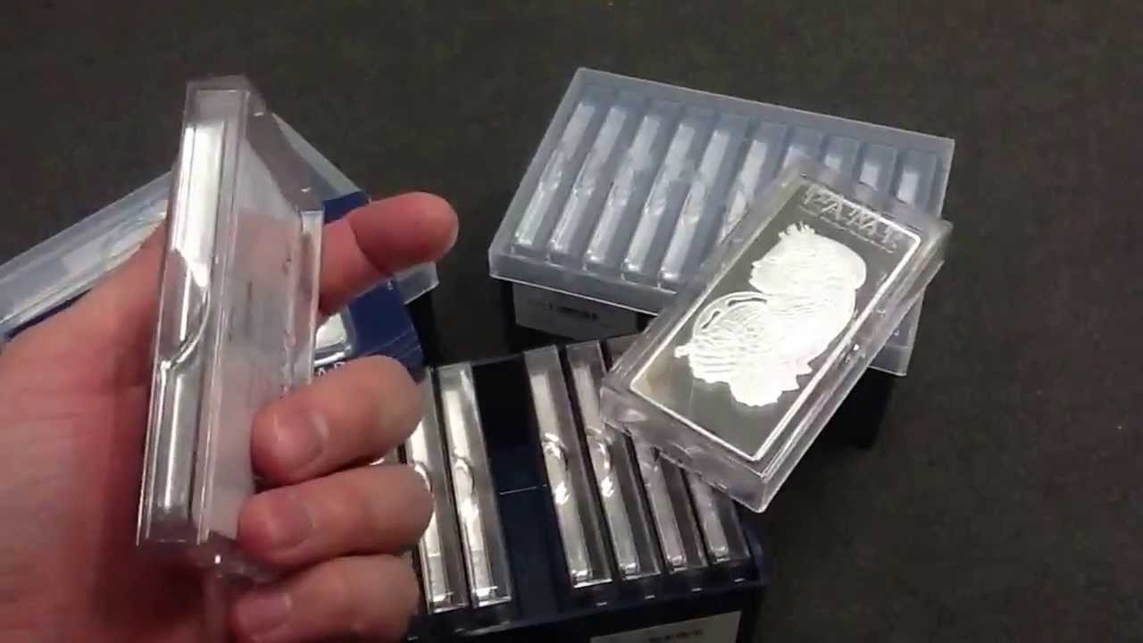 Pamp Suisse New Packaging 100g And 10oz Bars Youtube