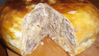 Рецепт пирог в мультиварке фото