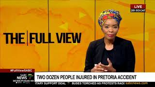 Two dozen people injured in Pretoria accident
