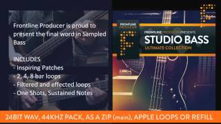 Live Bass Samples Loops - Studio Bass Ultimate Collection By Organic Loops