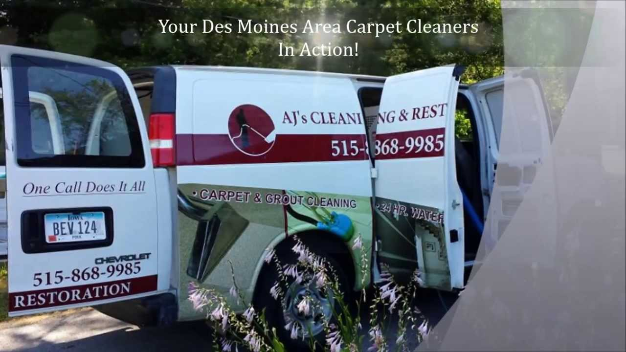 Des Moines Carpet Cleaning - AJ's Cleaning & Restoration ...