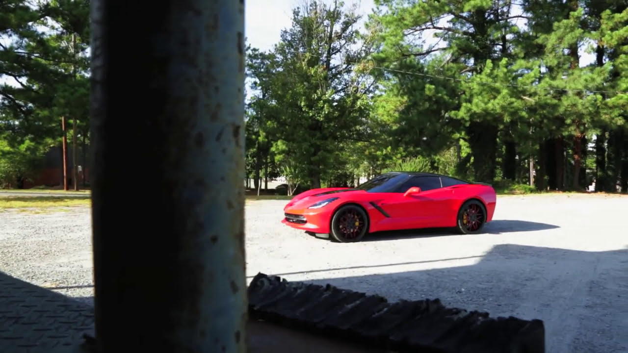 2015 Chevrolet Corvette Stingray | Forgiato Wheels - YouTube