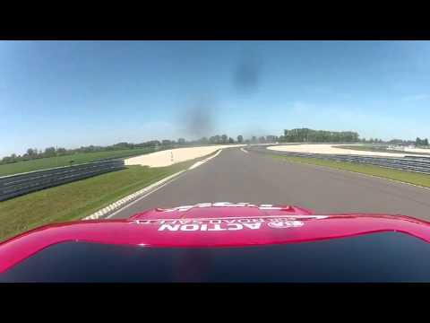 Slovakia ring Lapguide with Safety car and Tom Coronel FIA WTCC