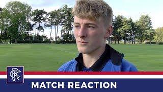 REACTION | Matthew Shiels | Dundee Utd 1 - 2 Rangers Reserves