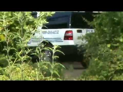 Cop hiding in the woods - SURPRISE