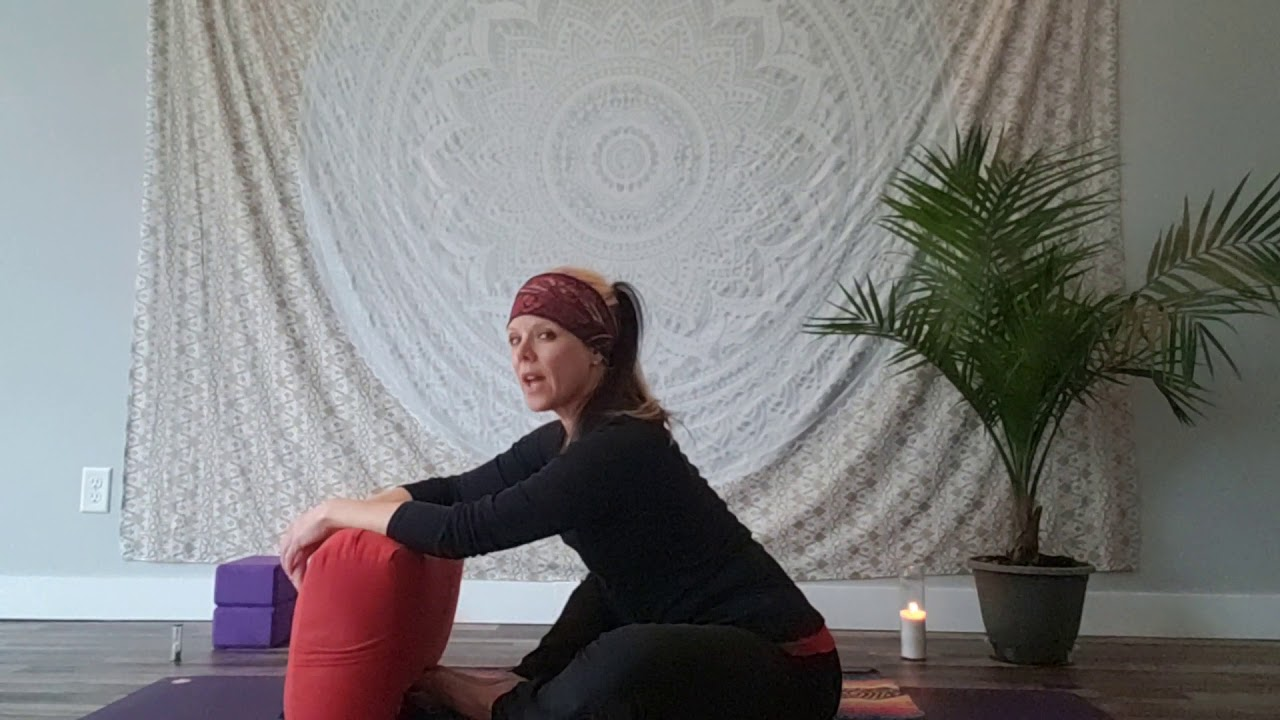 YIN Yoga for the spine with Yoga Mama'Z