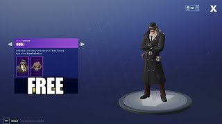 Fortnite Battle Royale - HOW TO GET FREE NOIR OUTFIT!