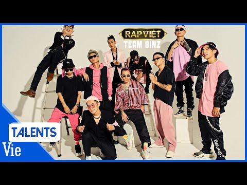 RAP VIỆT TEAM BINZ | Tổng hợp 9 màn trình diễn Rap của Team Binz có gì HOT ? Xem ngay !