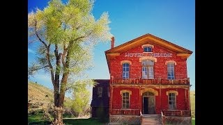 Inside a Ghost Town 40 Buildings State Park & MT Towns Hotel Meade Part #2