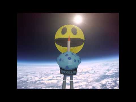 Pixels Pacman 35th Anniversary Space Launch