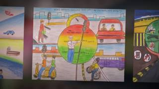 Road Safety Paintings by Children
