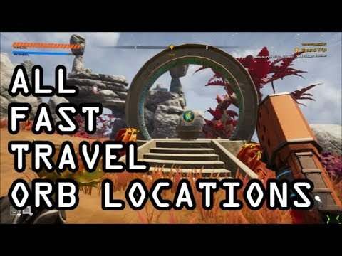 Journey To The Savage Planet - All Teleportation Orb Locations
