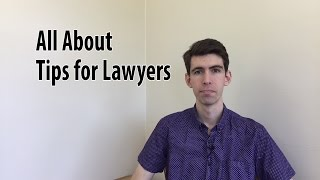What does Tips for Lawyers Do, and Why Do it?