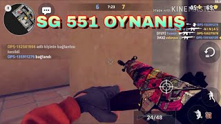 Critical ops SG 551 oynanış