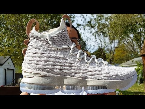 ff242d15b2f Nike Lebron 15 Ghost Review!!! Why Did These Sell Out !! - YouTube
