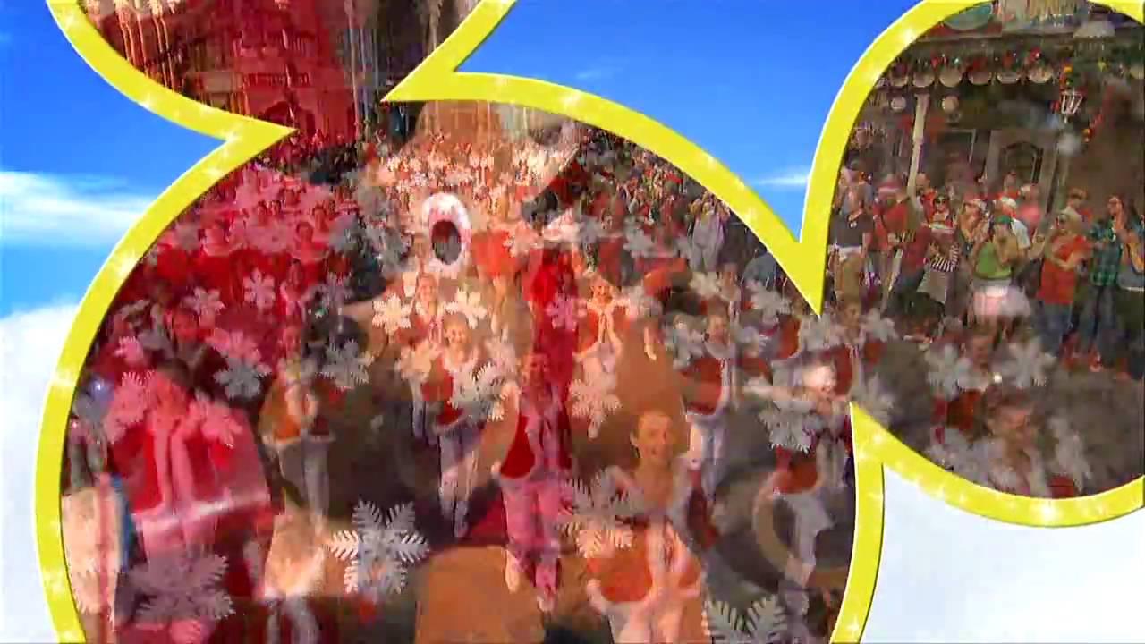 2008 Walt Disney World Christmas Day Parade Opening ...