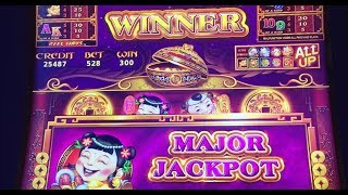 5 Treasures HANDPAY! Jackpot & Multiple Big Win Bonuses Bally Slot Machine