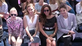 Celebrities at Dior Haute Couture Fashion Show - Front Row