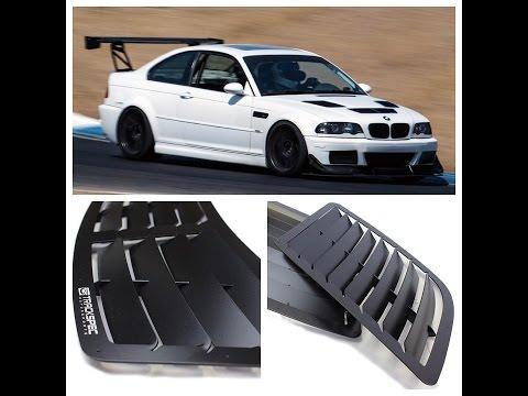 Unboxing: Trackspec Motorsports E46 M3 Hood Vents