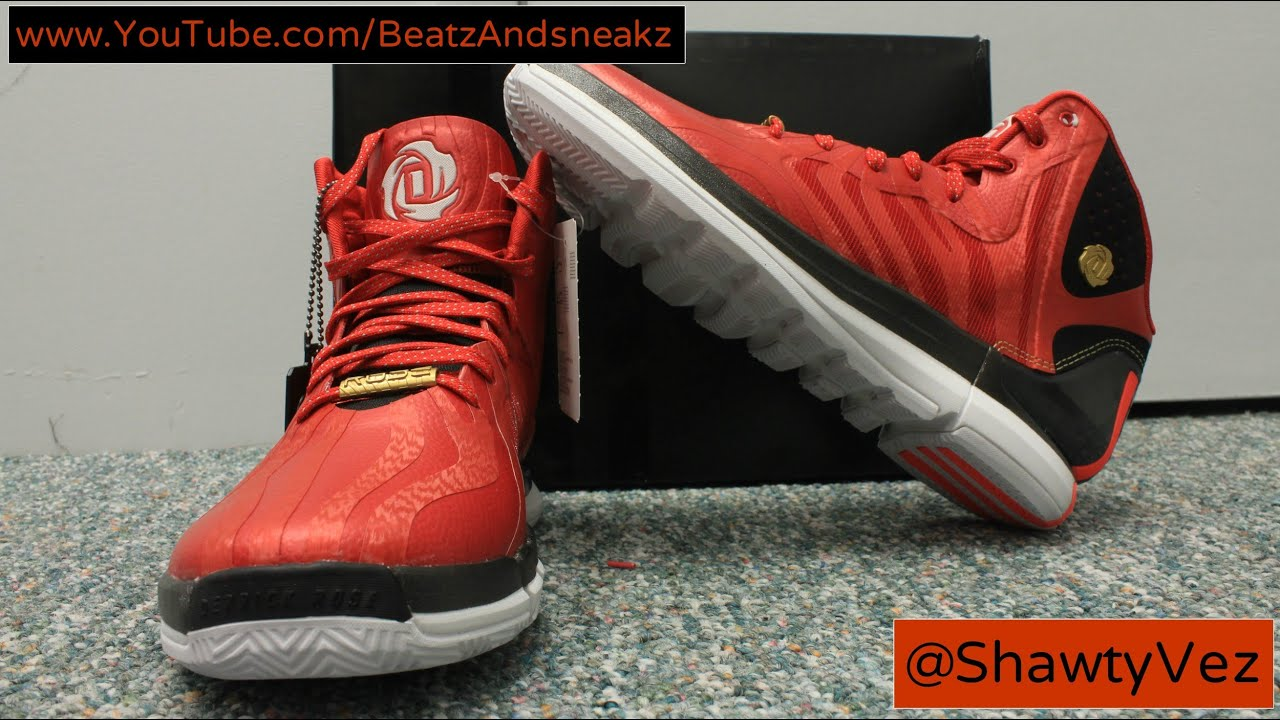 68b20d86954 Adidas D Rose 4.5 Scarlet Review - YouTube