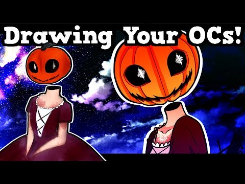 DRAWING YOUR OCs #8! (FREE!) Original Characters, Anime Portraits & More! ART CHALLENGE