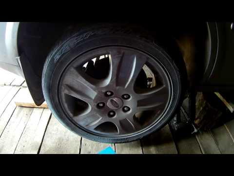 Замена задней ступицы Ford Mondeo 3 replacement rear hub Ford Mondeo 3