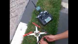 Micro quadricóptero (voo externo)