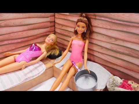 Nicoles SPA Salon - Spielspaß mit Barbie - Video für Kinder