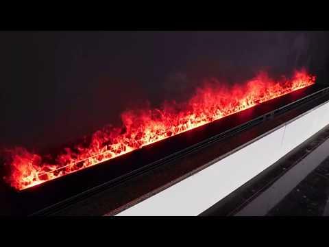 Water Vapor Fireplace | AFIRE WATER 3D Effect Electric Fireplace Insert -Steam Fireplaces