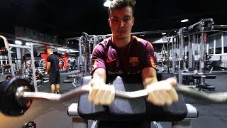 GANZKÖRPER TRAINING 💪   Gym Vlog mit Cubanito & Timo   ViscaBarca