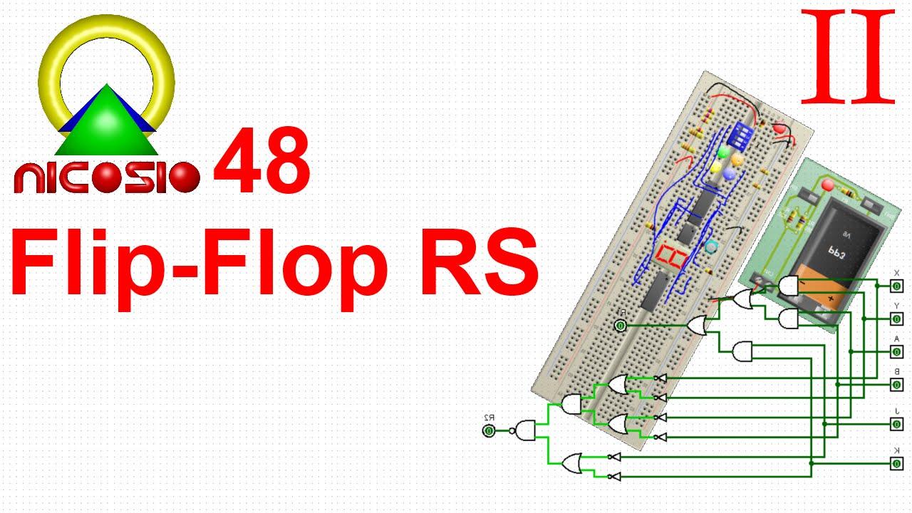 Circuito Flip Flop : Circuitos digitales flip flop rs sr youtube