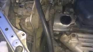 Определение одного из стуков двигателя. Натяжитель.