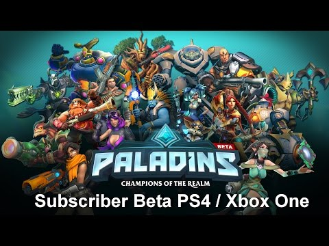 paladins:-champions-of-the-realms-beta-xbox-one-/-ps4-e-bônus-karaoke-xbox-one-e-pc