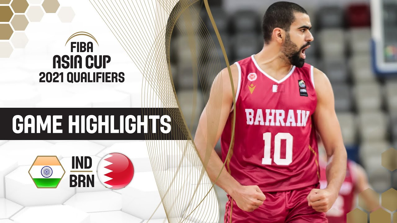 Download India - Bahrain | Highlights - FIBA Asia Cup 2021 Qualifiers