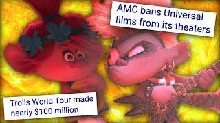 How Trolls World Tour Started A Movie Theater War