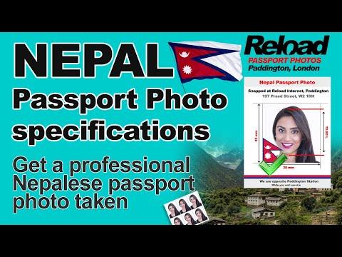 Your Nepal Passport and Visa Photos snapped in London, Paddington