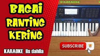 BAGAI RANTING KERING (iis dahlia) Karaoke Dangdut CASIO MZ-X500