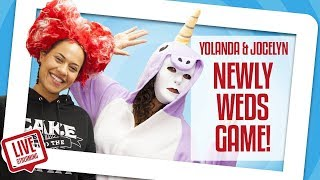 Yolanda & Jocelyn Play The NEWLYWED GAME!! | Yolanda Gampp | How To Cake It