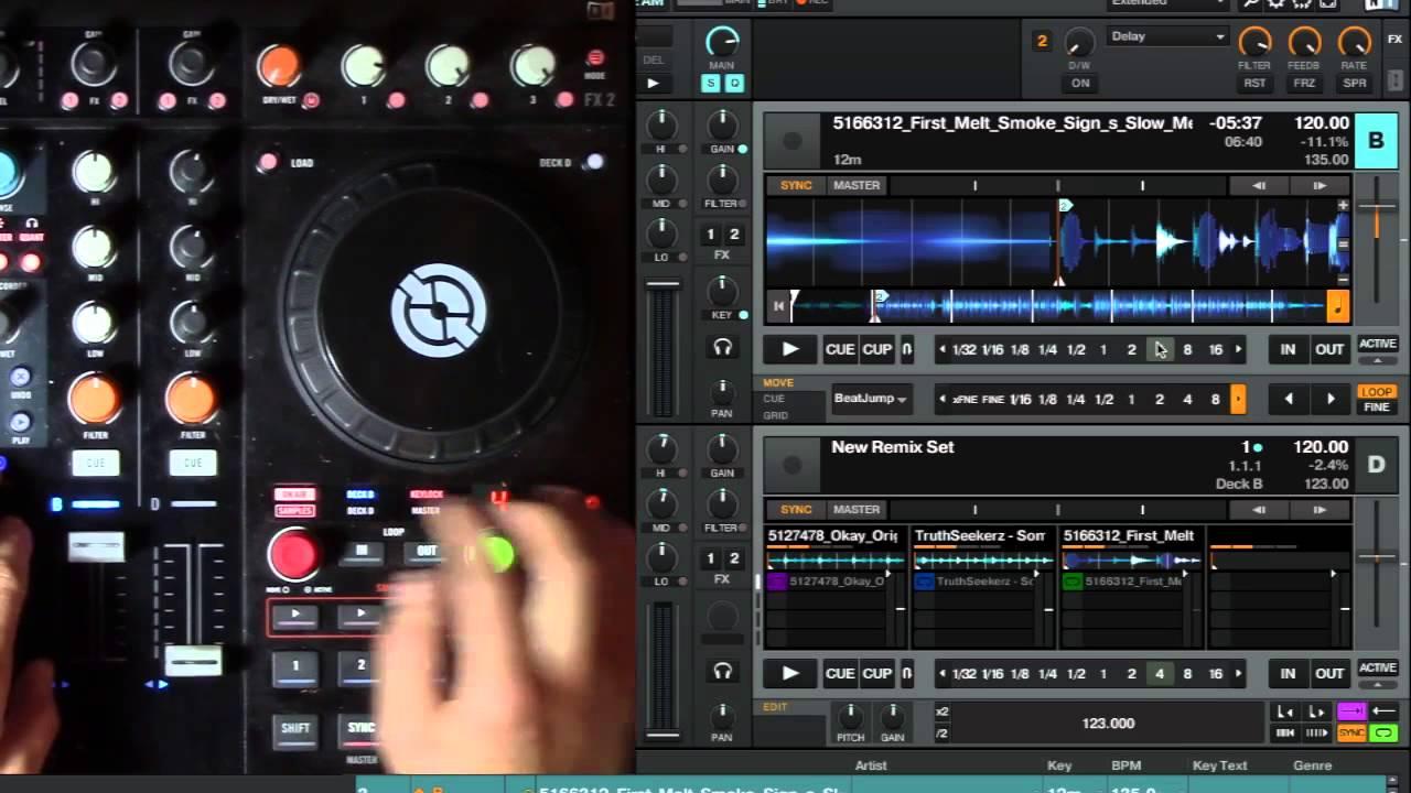 traktor pro 2 remix decks tutorial deutsch
